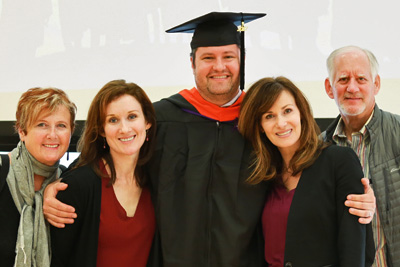 MISE graduate and family